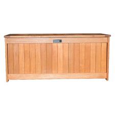 Lockt Shorea Wood Outdoor Storage Box