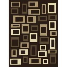 Newy 4351 Dark Brown Contemporary Rug