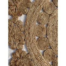 Anna III Decorative Natural Rug