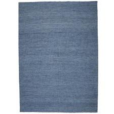 Blue Capri Wool Rug