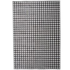 Black & White Oslo Herringbone Rug