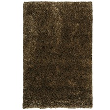 Brown Angora Luxe Wool Blend Rug