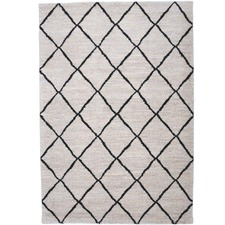 Cream Trend Contemporary Rug