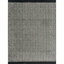 Black Millie Wool Rug