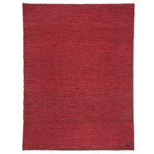 Red Burma Sumak Jute Rug