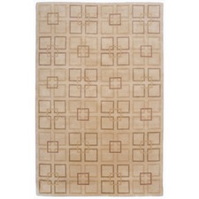 Beige Colporin Pure Wool Rug