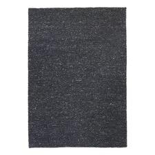 Black Confetti Wool Rug