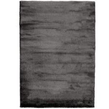 Super Soft Charcoal Shag Rug