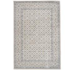 Ivory Elfe Classic Afghan Pattern Rug