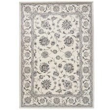 Ivory Elfe Classic Floral Rug