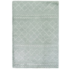 Green Diamond Style Moroccan Rug