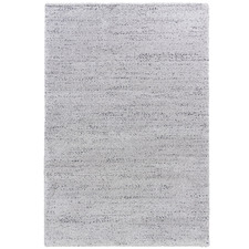 Silver Lucca Power-Loomed Rug