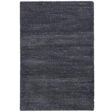 Black Lucca Power-Loomed Rug