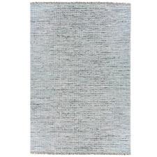 Blue & Black Tweed Wool Rug