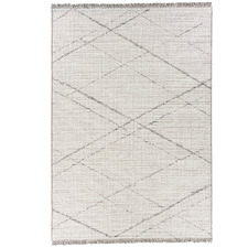 Cream Tweed Wool Outdoor Rug