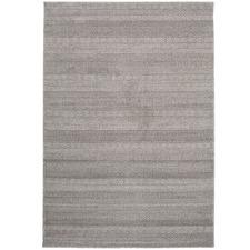 Grey Striped Hellberg Rug