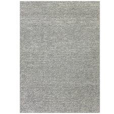 Silver Nirvana Hand-Woven Wool & Cotton Rug