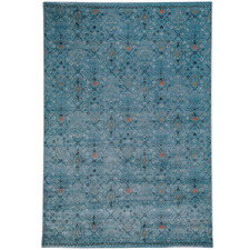 Blue Diamond Navajo Rug