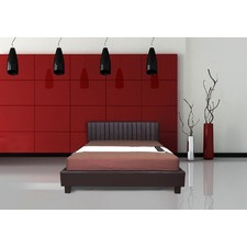 Italian Design New Dior PU Leather Wooden Bed Frame