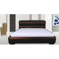 Italian Design Hublot PU Leather Wooden Bed Frame