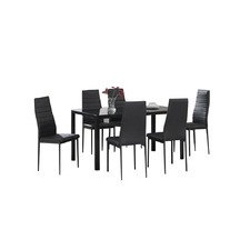 Octave 7 Piece Gloss Top Dining Set