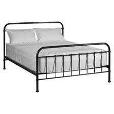 Black Jessica Metal Bed Frame