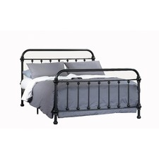 Black Carter Metal Bed Frame
