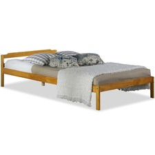 Natural Promo Pine Wood Bed Frame