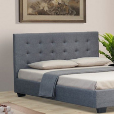 Sorrell Grey Wooden Bed Head