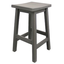 Cafe Del Mar Wooden Barstool
