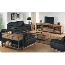 Pullman 2 Door and 1 Drawer TV Unit