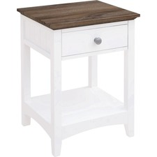 Brie 1 Drawer Bedside
