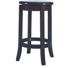 Swivel Stool Timber Seat