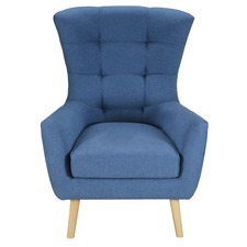 Blue Milla Armchair