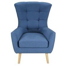 Blue Stockholm Armchair