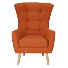Orange Milla Armchair