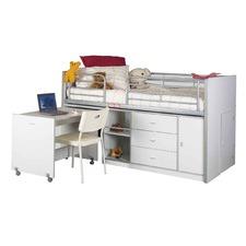 Darcy Bunk with Desk & Storage