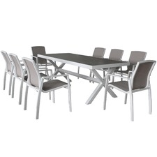 Oxford 8 Seater Outdoor Dining Set