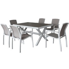 Oxford 6 Seater Outdoor Dining Set