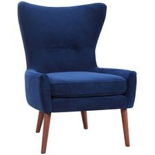 Luna Velvet Wing Back Chair