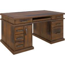 Bahamas Pine Wood Office Desk