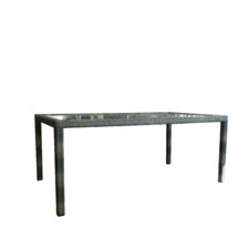 Grey Milford Outdoor Dining Table