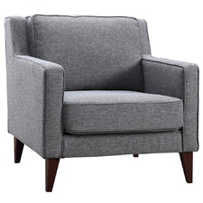 Grey Toulousse Upholstered Armchair