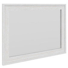 White Florida Wall Mirror
