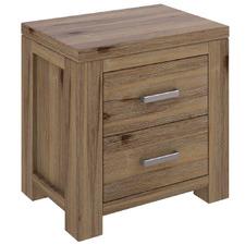 Ashton Acacia Wood Bedside Table