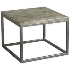 Rustic Byron Wooden Bedside Table