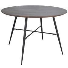 Dark Timber Lexington Round Dining Table