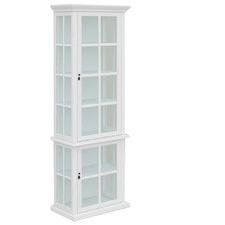 White Somerset 2 Door Display Cabinet