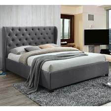 Charcoal Sharon Queen Bed