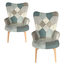Hamilton Upholstered Armchairs (Set of 2)